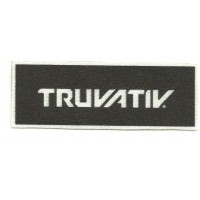 Parche textil TRUVATIV 10cm x 3,5cm