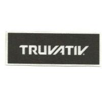 Textile patch TRUVATIV 10cm x 3,5cm