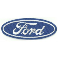 Patch embroidery FORD 9.5cm x 3.5cm