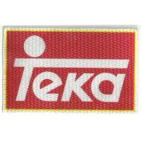 Parche textil TEKA 10cm x 6cm