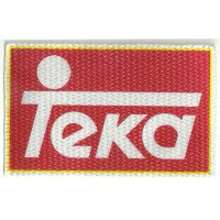 Textile patch TEKA 10cm x 6cm