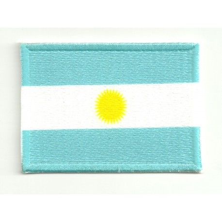 Patch embroidery and textile ARGENTINA 4CM x 3CM