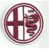 Patch embroidery ALFA ROMEO GRANATE 5,5cm