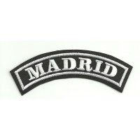 Embroidered Patch MADRID 11cm x 4cm