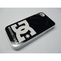 IPHONE 4 Y 4S DC SHOES BLANCA Y NEGRA