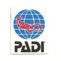 Textile patch PADI 5cm x 6cm