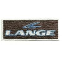 Parche textil LANGE 8,5cm x 3cm