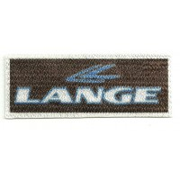 Textile patch LANGE 8,5cm x 3cm