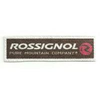 Parche textil ROSSIGNOL 8cm x 2,5cm