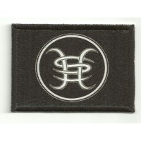 Textile and emmbroidery patch HEROES DEL SILENCIO 7cm x 4cm