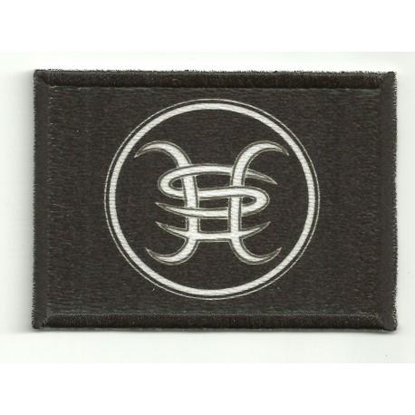 Parche textil y bordado HEROES DEL SILENCIO 7cm x 4cm