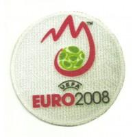Textile patch EURO 2008 REDONDO 8,5cm