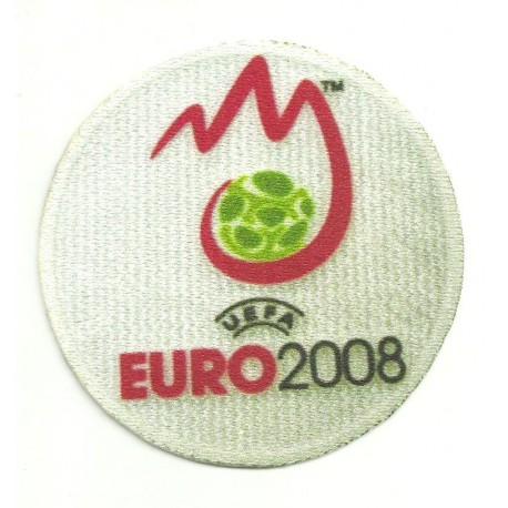 Parche textil EURO 2008 REDONDO 8,5cm