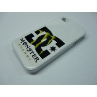 IPHONE 4 Y 4S DC SHOES MONSTER ENERGY BLANCA
