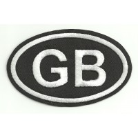 Patch embroidery GB 9,5cm x 6cm
