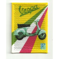 Patch textile and embroidery VESPA 5cm x 7cm