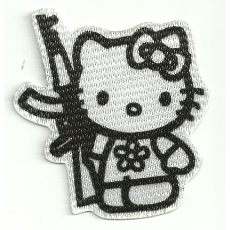 Parche textil KITTY AK 47 7,5cm x 8cm