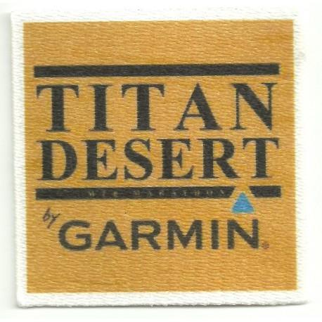 Parche textil TITAN DESERT 6cm x 6cm