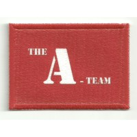 Embroidery and textile patch FLAG A TEAM 4cm x 3cm