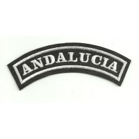 Embroidered Patch ANDALUCIA 15cm x 5.5cm
