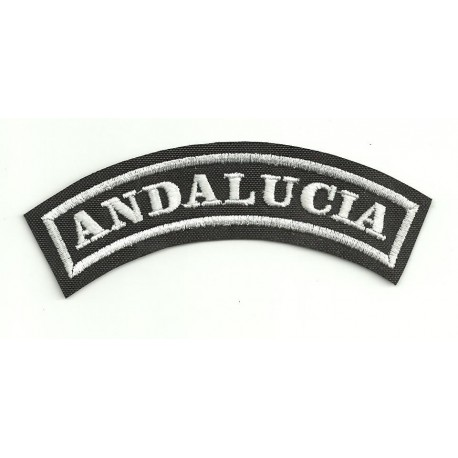 Embroidered Patch ANDALUCIA 11cm x 4cm
