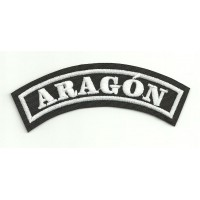 Embroidered Patch ARAGON 15cm x 5.5cm