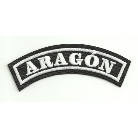 Embroidered Patch ARAGON 11cm x 4cm