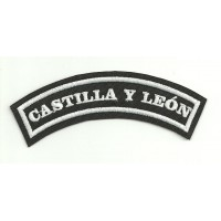 Embroidered Patch CASTILLA Y LEON 15cm x 5.5cm