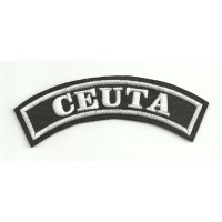 Embroidered Patch CEUTA 11cm x 4cm