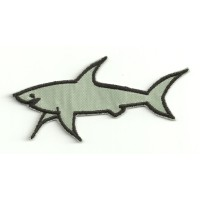 Patch embroidery paul shark 9cm x 4cm