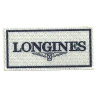 Patch textile LONGINES 7,5 cm x 3,5cm