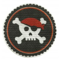 Patch textile INFANT PIRATE 7,5cm diametro
