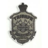 Patch textile TRIUMPH ESCUDO 5,5cm x 8cm