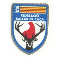 Textile patch BALEAR FEDERATION OF HUNTING 5,5cm x 8cm
