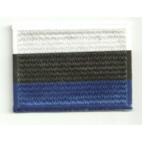 Patch embroidery and textile FLAG ESTONIA 7CM x 5CM