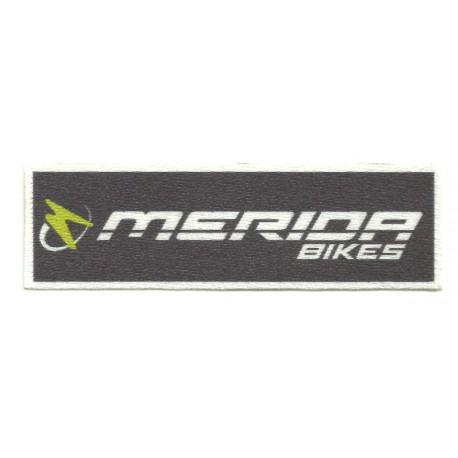 Parche textil MERIDA BIKERS negro 30cm x 9cm