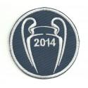 Parche bordado CAMPEONES CHAMPIONS 2014 REAL MADRID 7cm