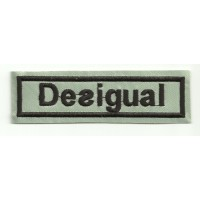 Patch embroidery DESIGUAL 10,5cm x 3cm