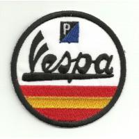 Patch embroidery VESPA SPAIN 7,5cm