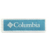 Parche textil COLUMBIA 8cm x 2cm