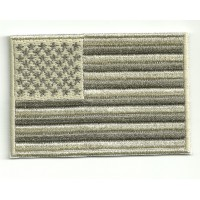 Patch embroidery FLAG ARIDA USA 4cm x 3cm