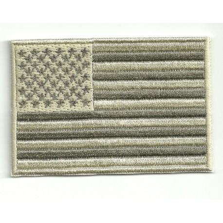 Parche bordado BANDERA USA ARIDA 4cm x 3cm