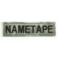 Patch embroidery NAMETAPE ACU 10cm x 2,6cm