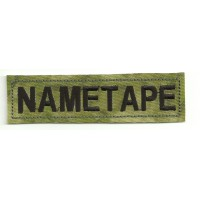 Patch embroidery NAMETAPE A-TACS 10cm x 2,6cm