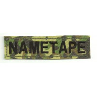 Patch embroidery NAMETAPE WOODLAND 10cm x 2,6cm