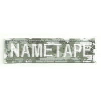 Patch embroidery NAMETAPE URBAN DIGITAL 10cm x 2,6cm
