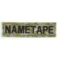 Patch embroidery NAMETAPE MULTICAN 10cm x 2,6cm