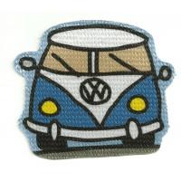 Parche textil volkswagen T1 9cm x 9cm