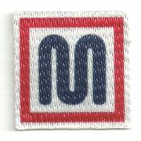 Patch textile MEYBA 3,8cm x 3,8cm
