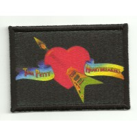 Textile and emmbroidery patch TOM PETTY 7cm x 4cm